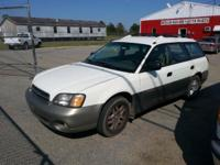 2001 Subaru Tradition Outback Wagon. 4WD, 4 cyndrical