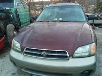 2001 Subaru Outback AWD,  with a bad engine comes