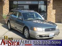 Options:  2001 Subaru Outback Awd|The Carfax Buy Back