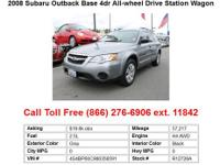 2001 Subaru Outback Base 4dr Station Wagon Station