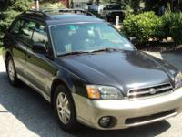 2001 Subaru Outback Limited with only 92,000 miles.