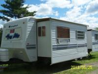 COST REDUCED !! Tow behind rv trailer for sale. 33' -