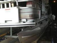 2001 18 ft sun tracker pontoon boat hi thank you for