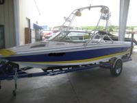 This is a very nice wakeboarding and ski boat that is