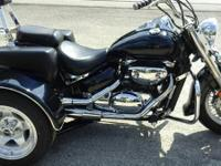 2001 SUZUKI BOULEVARD 800CC ONLY 18,000 MILES ON IT