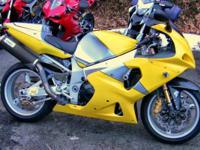 18K in uo grades Penske Fork ans Rear Shock. Motorbikes