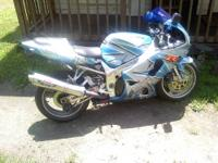 2001 suzuki gsxr 750 30k on bike but only 14k on engine