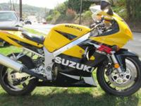 2001 Suzuki GSX-R--600cc 11,000 Miles Adult owned! New