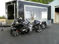 2015 Custom Trailer & 2001 Suzuki Hayabusa. Selling