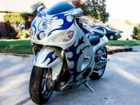 2001 Suzuki HayabusaLots of Chrome: Wheels, Swingarm +