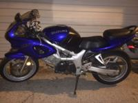 2001 Suzuki SV 650S Motorcycle - BlueI'm the only owner