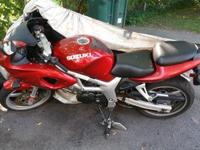 2001 SV 650 all this bike needs is a clucth and gear