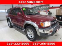 ONE OWNER !! LOCAL TRADE !! SUNROOF !! GOOD TIRES !!