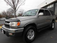 This vehicle has just arrived! 2001 TOYOTA 4RUNNER SR5
