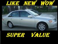 Description Make: Toyota Model: Avalon Year: 2001 VIN