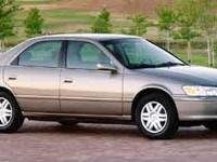 TOYOTA CAMRY LE!!! 2.2L I4 MPI DOHC and 4-Speed