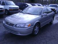 Options Included: $ 5,999.00 2001 CAMRY SPECIAL EDITION