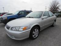 New Arrival! This 2001 Toyota Camry will sell fast