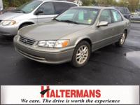 Gasoline! The Halterman Toyota EDGE! This 2001 Camry is