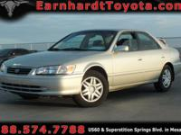 We are happy to offer you this 2001 Toyota Camry LE