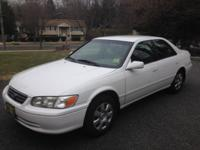 2001 Camry LE - White * 66k miles * Runs perfect *