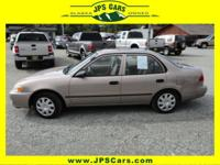 Options Included: Anti-Lock Brakes, Driver Air Bag,