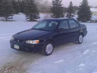 Options Included: N/A2001 Toyota Corolla CE 4 door