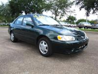 Options Included: N/AVery clean car, this 2001 Toyota