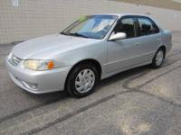 CHECK OUT THIS 2001 TOYOTA COROLLA S 4dr VEHICLE! THIS