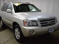 This outstanding example of a 2001 Toyota Highlander is