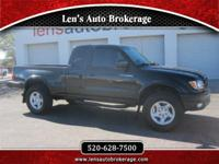 Options:  2001 Toyota Tacoma Another Carfax 1 Owner And