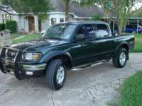 2001 Toyota Tacoma. This is the TRD Edition and has