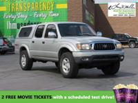CarFax 1-Owner, This 2001 Toyota Tacoma DoubleCab V6