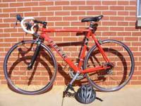 2001 Trek 2200, Aluminum Frame, Carbon Fiber Forks and
