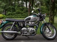 This is the millennium Triumph Bonneville. My father