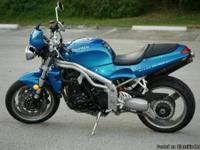 2001 Triumph  Speed Triple  955i for