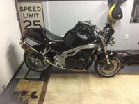 2001 Triumph Speed Triple with 13400 miles ,very