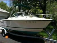 2001 19.5 ft. Trophy Dual Console w/ Trailer - 125