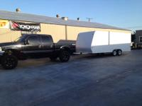 Selling a 2002 Universal 20x8 ft enclosed trailer in