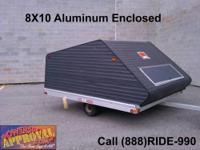 2001 used Karavan Snowmobile Trailer - Nice shape,