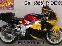 2001 Used Suzuki GSXR600 Crotch Rocket For Sale-U1938