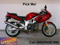 2001 Used Suzuki TL1000SKI - Sport bike for sale. Rare,