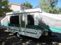 2001 Viking M16 Tent Travel Trailer This is a great 16