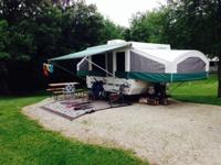 2001 Viking 2465 Legend turn up camper. Has Side Slide