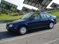 Options Included: VW Jetta GL, 2.0L Excellent on gas !