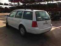 STK # 140105. WE ARE PARTING OUT A 2001 VOLKSWAGEN