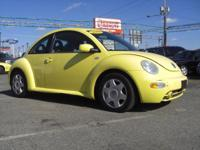 Options Included: 2001 Volkswagen New Beetle!This VW