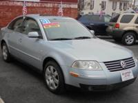 VERY NICE 2001 VOLKSWAGEN PASSAT GLX V6 ALL WHEEL DRIVE