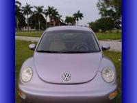 2001 Volkswagon Beetle GLS 1.8T, 5 speed stick shift,