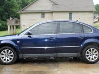 "VW Passat 2001 ""New Passat"" has 2002 body design. Car"